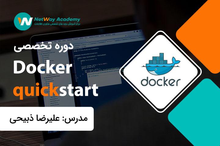 Docker quickstart-shakhes